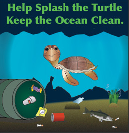 Help Splash Keep Our Ocean Clean